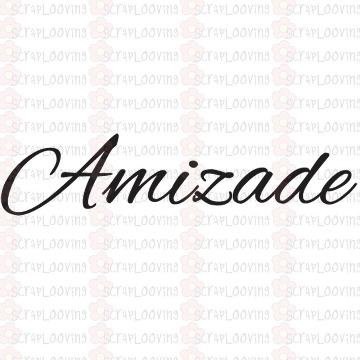 "Carimbo ""Amizade"" Código 1163"