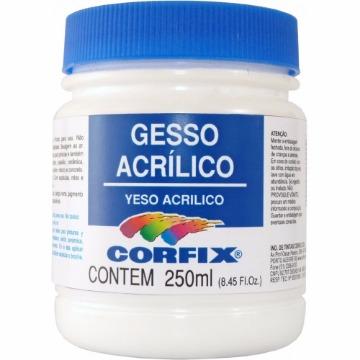 69250 - GESSO ACRÍLICO 250 ML - CORFIX