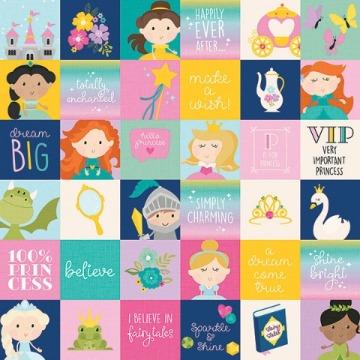 #10564 - 2x2 Elements - Little Princess - Simple Stories