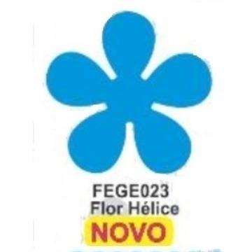 FEGE023 Furador Extra Gigante EVA Flor Hélice