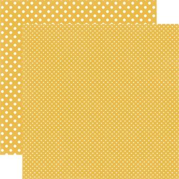 Echo Park - Dots & Stripes - Mustard #DS15036
