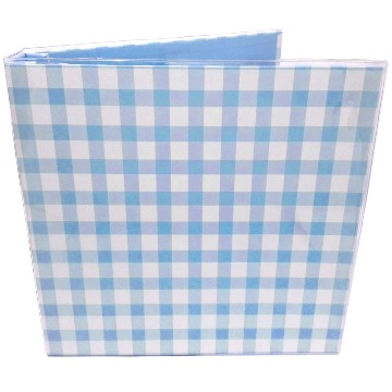 0604105 Álbum 30,5x30,5 Xadrez Azul