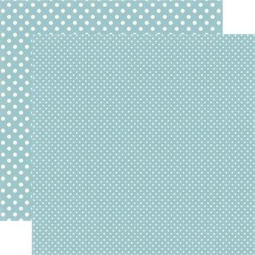 Echo Park - Dots & Stripes - Glacier - #DS15052