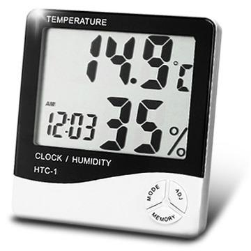 Termo Higrômetro Digital - Medidor de Temperatura e Umidade