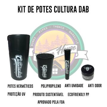 Kit Potes Cultura Dab - Lançamento!!!