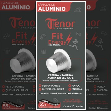 Café FIT Energy com Taurina
