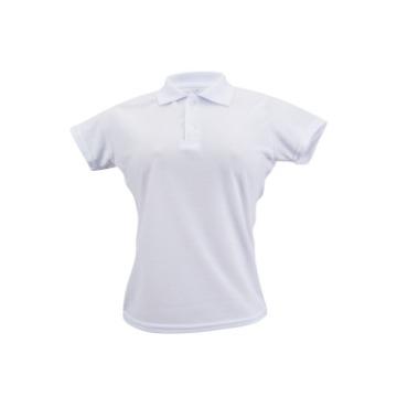 d0eda6d41a Camisa Polo Branca - Feminina - TAMANHO (P) - Estamparia Sublimar