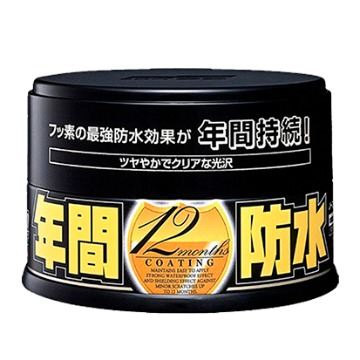Cera Fusso Coat Black para Cores Escuras Soft99 (200g)