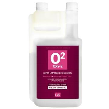 OXY2 - EasyTec - TIRA MANCHAS CONCENTRADO COM PERÓXIDO DE HIDROGÊNIO 1,2L