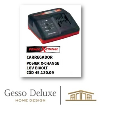CARREGADOR POWER X-CHARGER 18 V BIVOLT