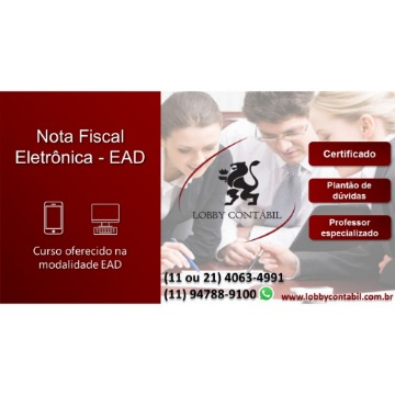Curso Nota Fiscal Eletrônica NF-e - EAD