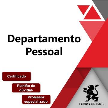 Curso de Departamento Pessoal - EAD