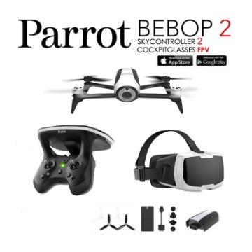 PARROT BEBOP 2 FPV -  c/ controle e oculos VR