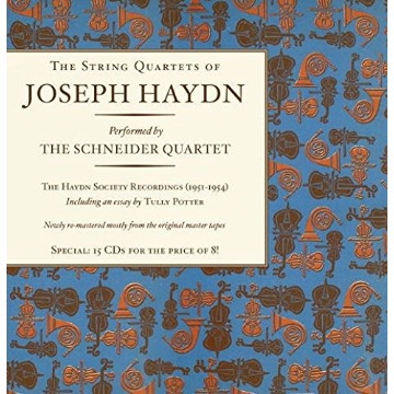 THE STRING QUARTETS OF JESEPH HAYDN: String Quartets Box set