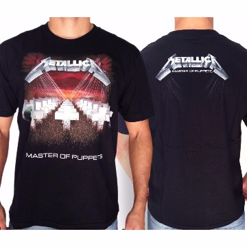 CAMISETA METALLICA - MASTER OF PUPPETS - G