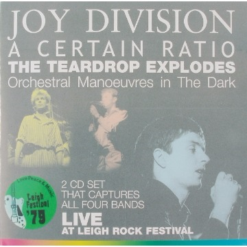 JOY DIVISION / A CERTAIN RATIO / THE TEARDROP EXPLODES / ORCHESTRAL MANOEUVRES IN THE DARK - LIVE AT LEIGH ROCK FESTIVAL
