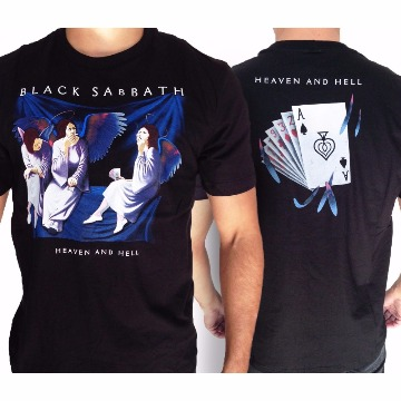 CAMISETA BLACK SABBATH - HEAVEN AND HELL- G