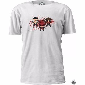Camiseta Demolidor Meninas Super Poderosas Daredevil - Marvel - Tamanho: G