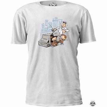 Camiseta Calvin & Haroldo De Volta Pro Futuro - Filme - Tamanho M