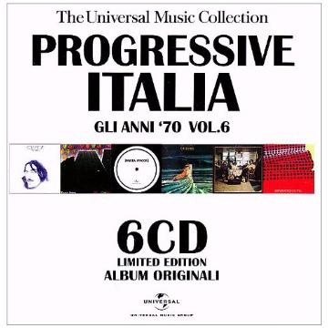 PROGRESSIVE ITALIA: GLI ANNI 70 - VOL. 6-PROGRESSI