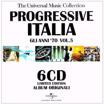 PROGRESSIVE ITALIA ´70 VOL.5 - VARIOUS CD