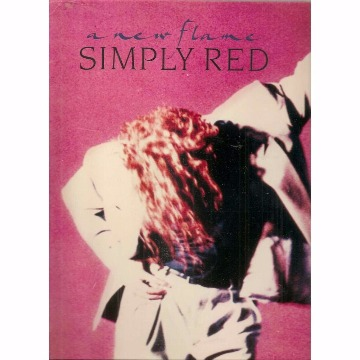 LP SIMPLY RED - A NEW FLAME