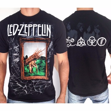 CAMISETA LED ZEPPELIN - FOUR SYMBOLS- G