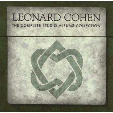 LEONARD COHEN - Complete Studio Albums Collection Box set, Import