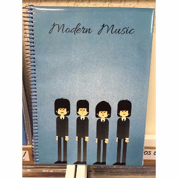 CADERNO MODERN MUSIC - THE BEATLES