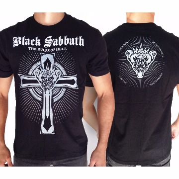 CAMISETA BLACK SABBATH - THE RULES OF HELL - G
