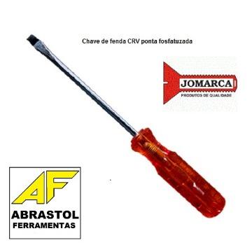 CHAVE FENDA 1/8 X 3 CRVN JOMARCA