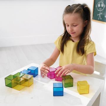 Brinca Cubos Cristal