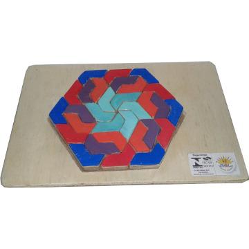 Hexágono - 30 peças iguais