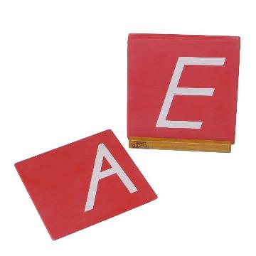 D'Nealian Sandpaper Capitals with Box