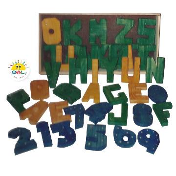 Cx Letras e Números