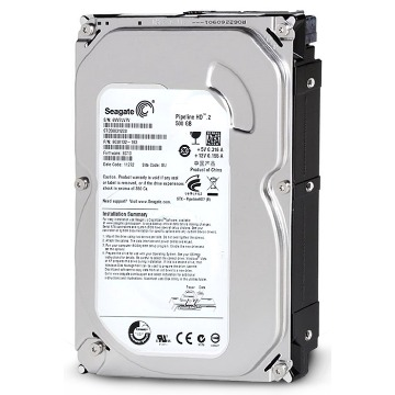 HD 500 GB SATA 2 - 3Gb/s - 5900RPM - 8MB Cache - Seagate Pipeline - ST3500312CS