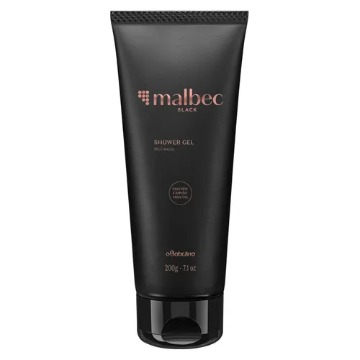 Malbec Black Shower Gel Corporal, 200g (74906)