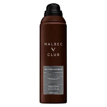 Malbec Club Gel Espumante Para Barbear 150ml (73801)