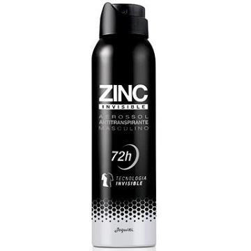 Desodorante Antitranspirante Aerossol Zinc Invisible (10650)