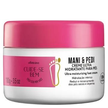 Cuide-se Bem Mani & Pedi Creme Hidratante para Pés 100g  (70090)