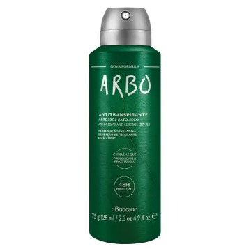 Arbo Desodorante Antitranspirante Aerosol, 75g 125ml (74437)