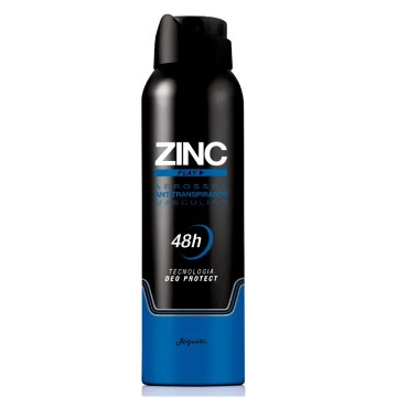 Aerossol Antitranspirante Zinc Play - 150 ml (11652)