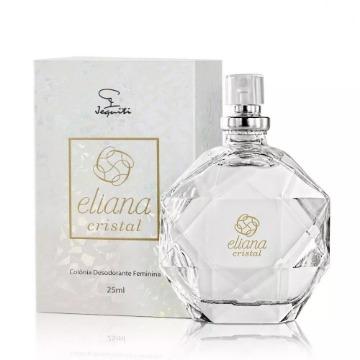 Colônia Desodorante Feminina Eliana Cristal, 25ml (10585)