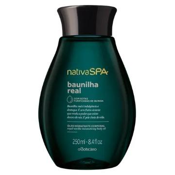 Nativa SPA Baunilha Real Óleo Desodorante Hidratante Corporal 250ml (75042)