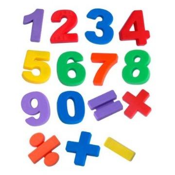 Números magnéticos 48 peças - Vanzetti