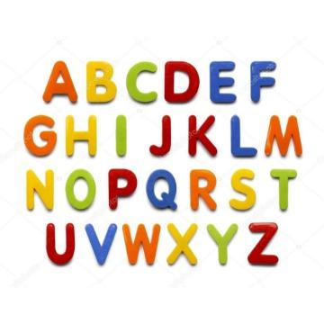 Alfabeto magnético 94 Peças - Vanzetti