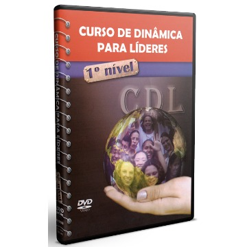 DVD - Curso de Dinâmica para Líderes - CDL - 1º Nível