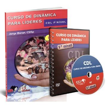 Kit Reprodução - Curso de Dinâmica para Líderes - CDL - 1º Nível