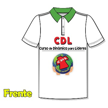 Camiseta Polo CDL - Gola Verde