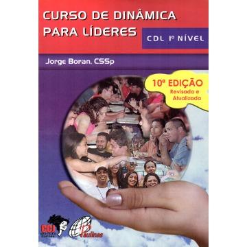 Livro Curso de Dinâmica para Líderes - CDL - 1º Nível